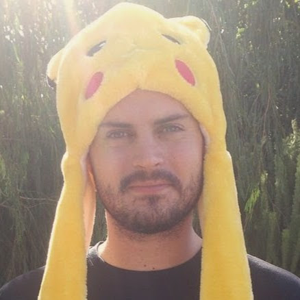 Patric in a Pikachu hat